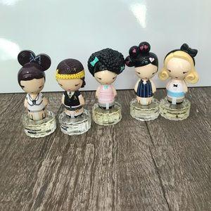 HARAJUKU LOVERS ALL 5 Perfumes G LOVE BABY .3 oz.